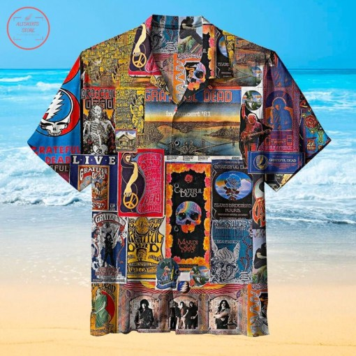 Grateful Dead Band Hawaiian Shirt