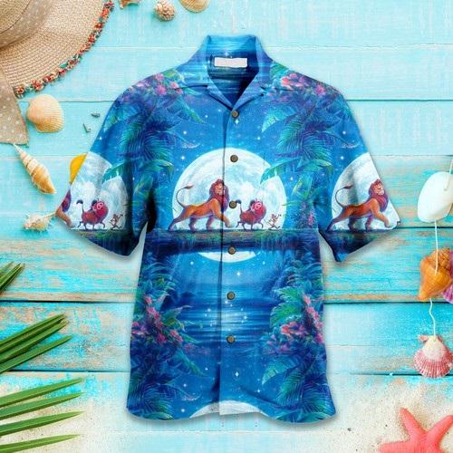 Lion King Disney Hawaiian Custom Summer Shirt