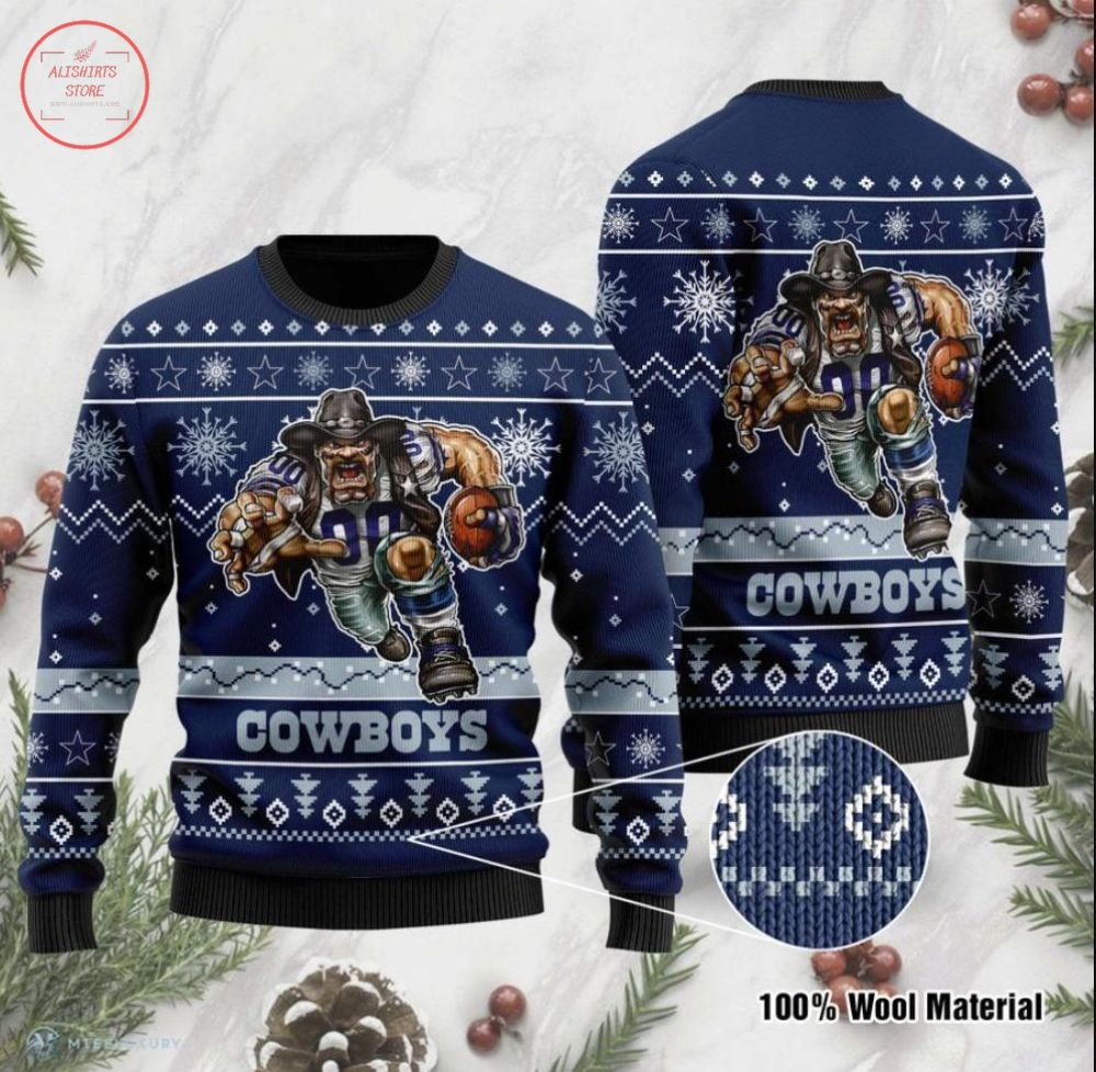 NFL Cowboys Dallas Ugly Christmas Sweater