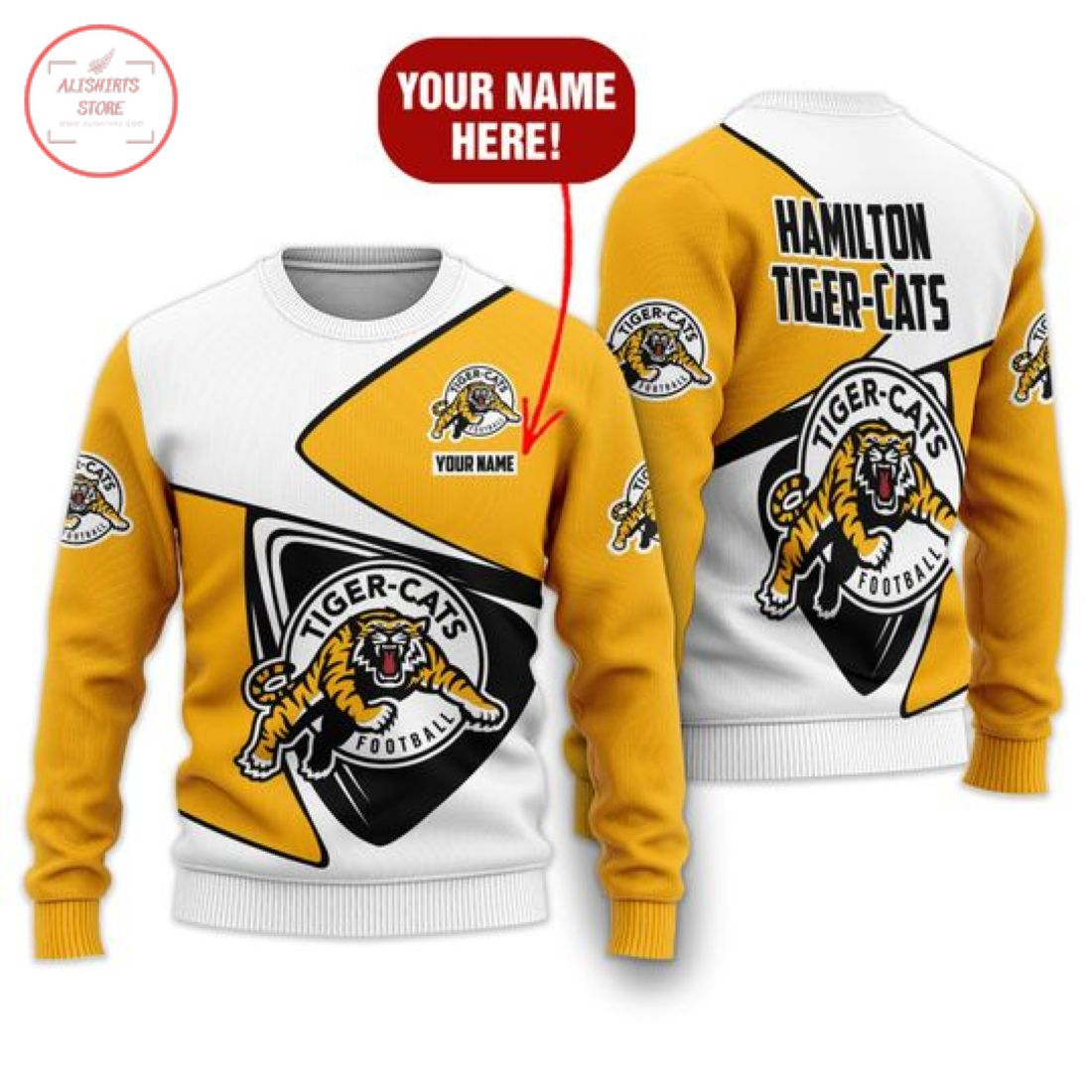 Cfl Hamilton Tiger-cats Personalized Shirts