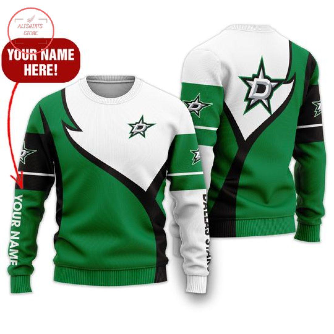 Nhl Dallas Stars Personalized Shirts