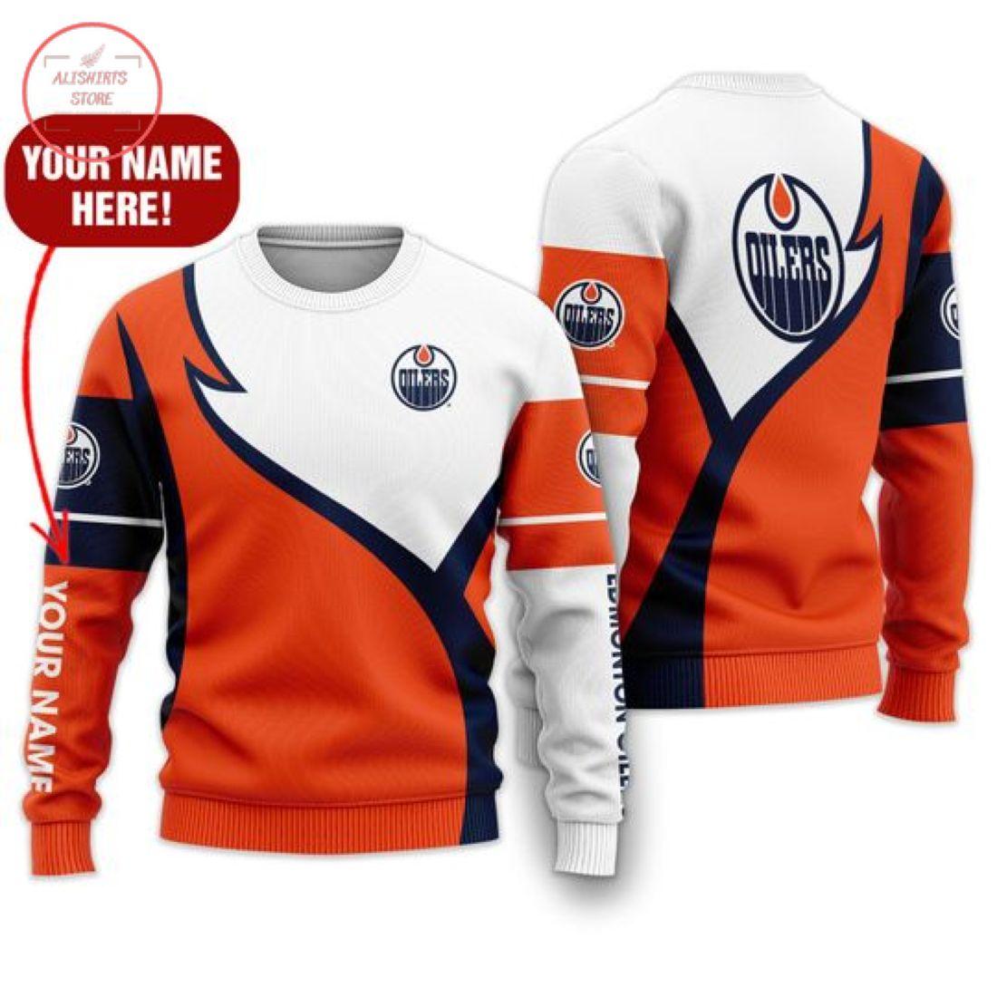 Nhl Edmonton Oilers Personalized Shirts