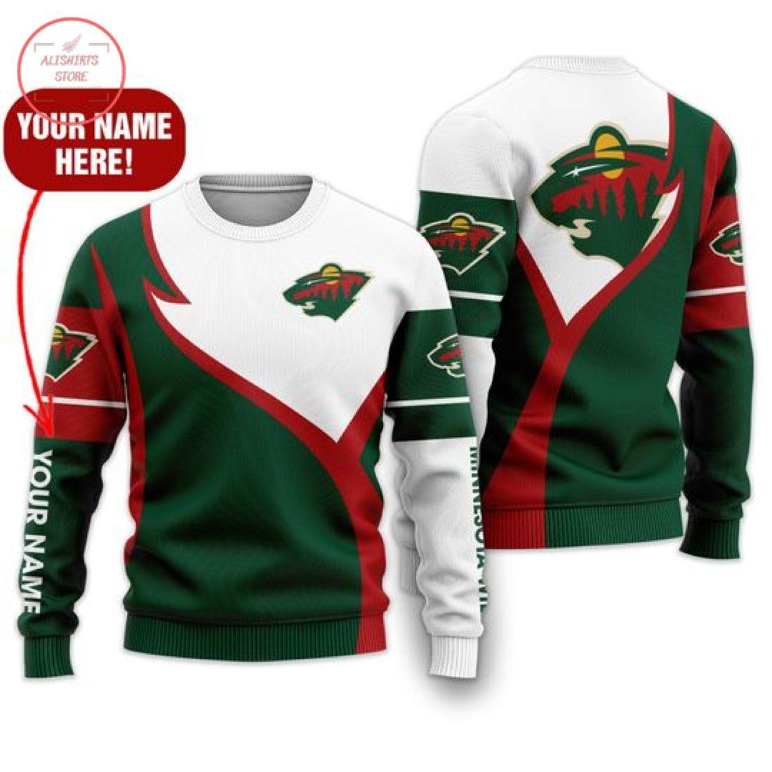 Nhl Minnesota Wild Personalized Shirts