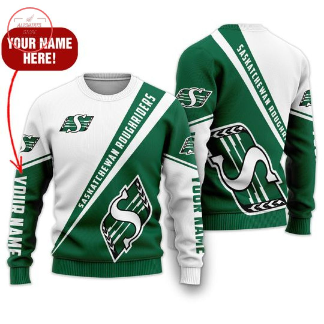 Personalized Cfl Saskatchewan Roughriders Shirts